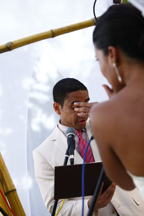 One of emotional pictures which I look during the event - Himashi & Rafael's Wedding, Sri Lanka